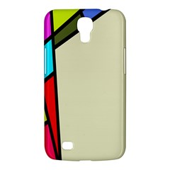 Digitally Created Abstract Page Border With Copyspace Samsung Galaxy Mega 6.3  I9200 Hardshell Case