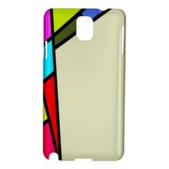 Digitally Created Abstract Page Border With Copyspace Samsung Galaxy Note 3 N9005 Hardshell Case