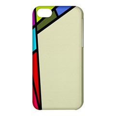 Digitally Created Abstract Page Border With Copyspace Apple iPhone 5C Hardshell Case