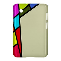 Digitally Created Abstract Page Border With Copyspace Samsung Galaxy Tab 2 (7 ) P3100 Hardshell Case