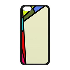 Digitally Created Abstract Page Border With Copyspace Apple iPhone 5C Seamless Case (Black)