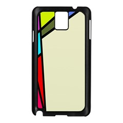 Digitally Created Abstract Page Border With Copyspace Samsung Galaxy Note 3 N9005 Case (Black)