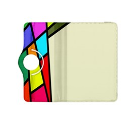 Digitally Created Abstract Page Border With Copyspace Kindle Fire HDX 8.9  Flip 360 Case