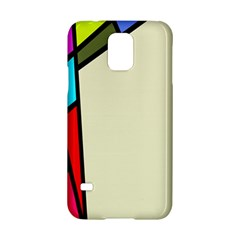 Digitally Created Abstract Page Border With Copyspace Samsung Galaxy S5 Hardshell Case