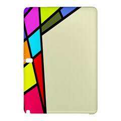 Digitally Created Abstract Page Border With Copyspace Samsung Galaxy Tab Pro 12.2 Hardshell Case