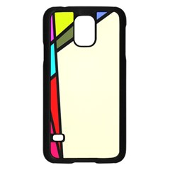 Digitally Created Abstract Page Border With Copyspace Samsung Galaxy S5 Case (black)