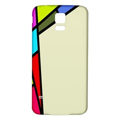 Digitally Created Abstract Page Border With Copyspace Samsung Galaxy S5 Back Case (white)