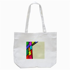 Digitally Created Abstract Page Border With Copyspace Tote Bag (White)