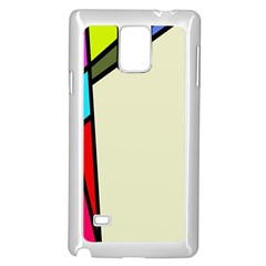 Digitally Created Abstract Page Border With Copyspace Samsung Galaxy Note 4 Case (white)