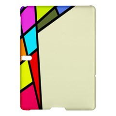 Digitally Created Abstract Page Border With Copyspace Samsung Galaxy Tab S (10.5 ) Hardshell Case