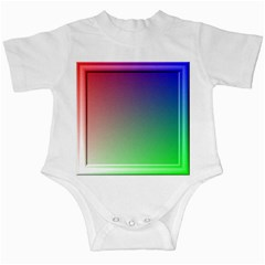 3d Rgb Glass Frame Infant Creepers