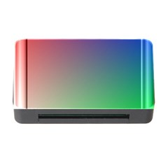 3d Rgb Glass Frame Memory Card Reader with CF