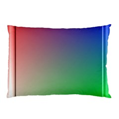 3d Rgb Glass Frame Pillow Case (two Sides)