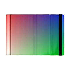 3d Rgb Glass Frame Apple iPad Mini Flip Case