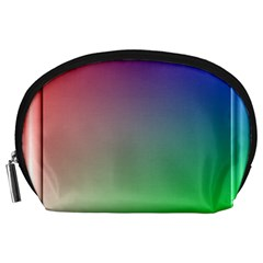 3d Rgb Glass Frame Accessory Pouches (large)