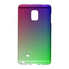 3d Rgb Glass Frame Galaxy Note Edge