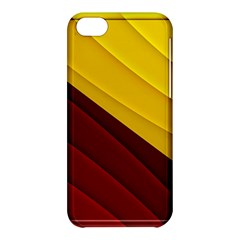3d Glass Frame With Red Gold Fractal Background Apple iPhone 5C Hardshell Case