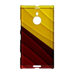 3d Glass Frame With Red Gold Fractal Background Nokia Lumia 1520
