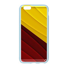 3d Glass Frame With Red Gold Fractal Background Apple Seamless iPhone 6/6S Case (Color)