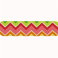 Colorful Background Of Chevrons Zigzag Pattern Large Bar Mats