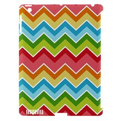 Colorful Background Of Chevrons Zigzag Pattern Apple iPad 3/4 Hardshell Case (Compatible with Smart Cover)