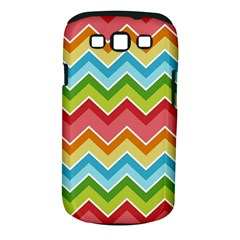 Colorful Background Of Chevrons Zigzag Pattern Samsung Galaxy S III Classic Hardshell Case (PC+Silicone)