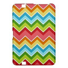 Colorful Background Of Chevrons Zigzag Pattern Kindle Fire HD 8.9
