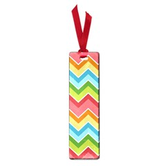 Colorful Background Of Chevrons Zigzag Pattern Small Book Marks