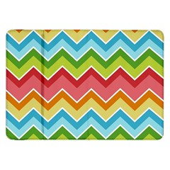 Colorful Background Of Chevrons Zigzag Pattern Samsung Galaxy Tab 8.9  P7300 Flip Case