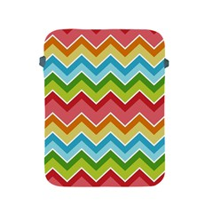 Colorful Background Of Chevrons Zigzag Pattern Apple iPad 2/3/4 Protective Soft Cases