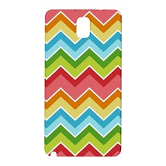 Colorful Background Of Chevrons Zigzag Pattern Samsung Galaxy Note 3 N9005 Hardshell Back Case