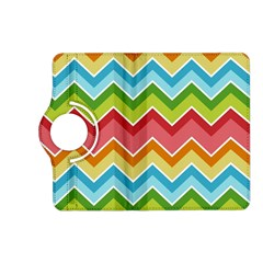 Colorful Background Of Chevrons Zigzag Pattern Kindle Fire Hd (2013) Flip 360 Case