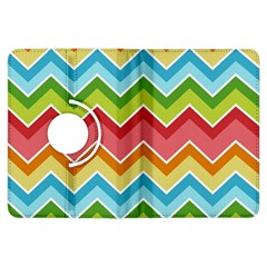 Colorful Background Of Chevrons Zigzag Pattern Kindle Fire HDX Flip 360 Case