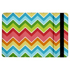 Colorful Background Of Chevrons Zigzag Pattern iPad Air Flip