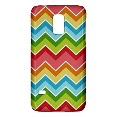 Colorful Background Of Chevrons Zigzag Pattern Galaxy S5 Mini