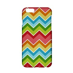 Colorful Background Of Chevrons Zigzag Pattern Apple iPhone 6/6S Hardshell Case