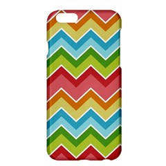 Colorful Background Of Chevrons Zigzag Pattern Apple iPhone 6 Plus/6S Plus Hardshell Case