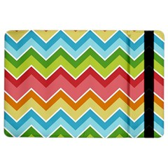 Colorful Background Of Chevrons Zigzag Pattern iPad Air 2 Flip