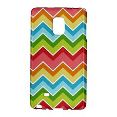Colorful Background Of Chevrons Zigzag Pattern Galaxy Note Edge