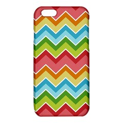 Colorful Background Of Chevrons Zigzag Pattern iPhone 6/6S TPU Case