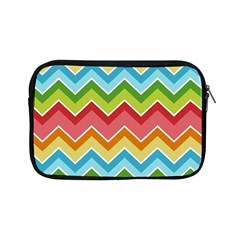 Colorful Background Of Chevrons Zigzag Pattern Apple Ipad Mini Zipper Cases