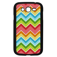 Colorful Background Of Chevrons Zigzag Pattern Samsung Galaxy Grand DUOS I9082 Case (Black)