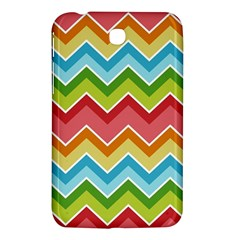 Colorful Background Of Chevrons Zigzag Pattern Samsung Galaxy Tab 3 (7 ) P3200 Hardshell Case