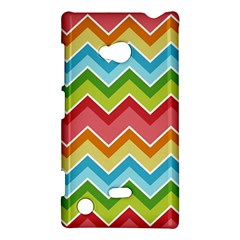 Colorful Background Of Chevrons Zigzag Pattern Nokia Lumia 720