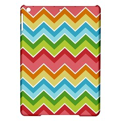 Colorful Background Of Chevrons Zigzag Pattern iPad Air Hardshell Cases