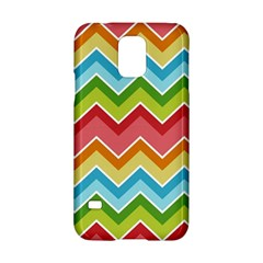 Colorful Background Of Chevrons Zigzag Pattern Samsung Galaxy S5 Hardshell Case