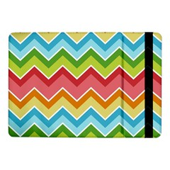 Colorful Background Of Chevrons Zigzag Pattern Samsung Galaxy Tab Pro 10.1  Flip Case
