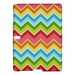 Colorful Background Of Chevrons Zigzag Pattern Samsung Galaxy Tab S (10.5 ) Hardshell Case