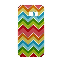 Colorful Background Of Chevrons Zigzag Pattern Galaxy S6 Edge