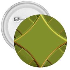 Fractal Green Diamonds Background 3  Buttons